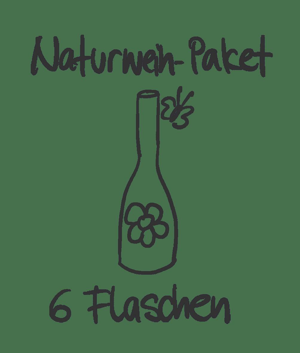Ein Naturwein Probierpakte vom Weingut Hareter Thomas.