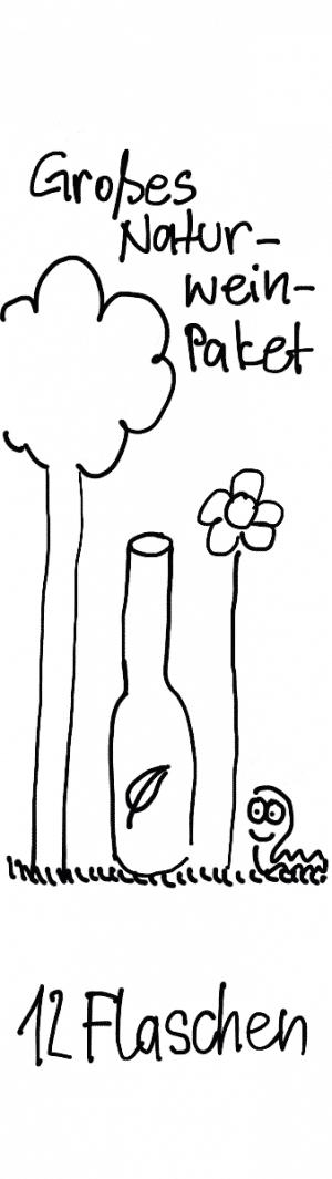 Großes Naturwein Probierpaket