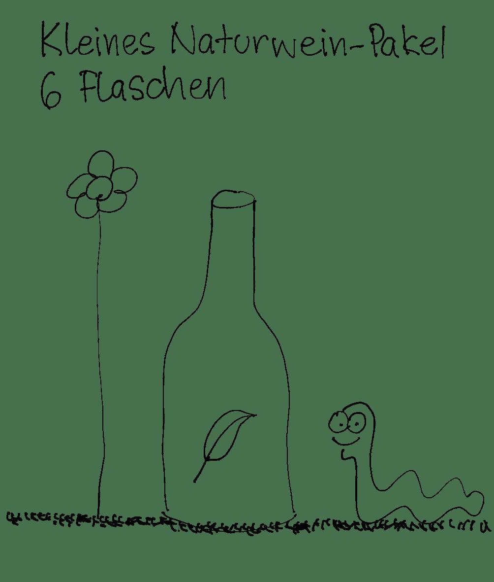 Ein Naturwein Probierpakt vom Weingut Hareter Thomas.